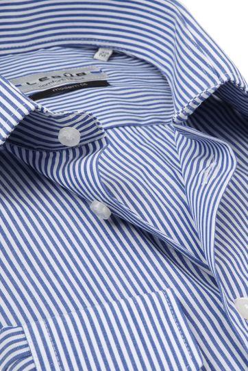 Ledub Shirt MF Striped Blue