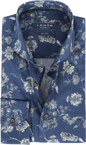 Ledub Shirt Nature Navy