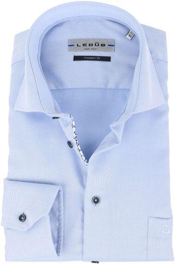 Ledub Shirt Non Iron Blue