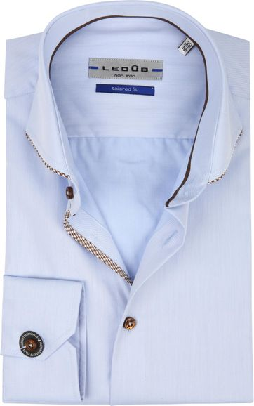 Ledub Shirt Non Iron Blue SL7