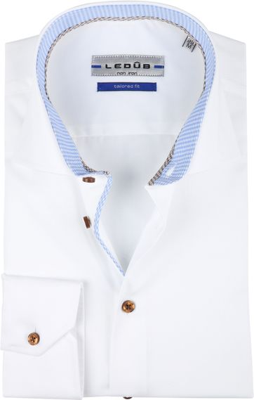 Ledub Shirt Non Iron White