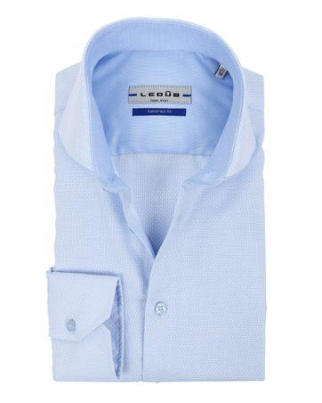 Ledub Shirt SF Dessin Blue