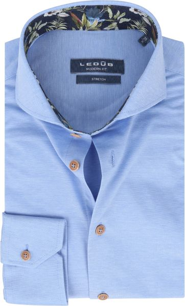 Ledub Shirt Stretch Blue