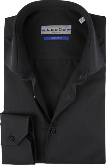 Ledub Shirt TF Non Iron Zwart