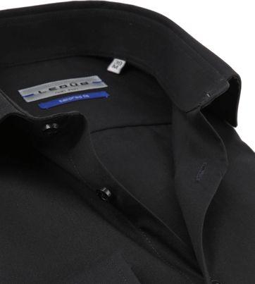Ledub Shirt TF Non Iron Zwart