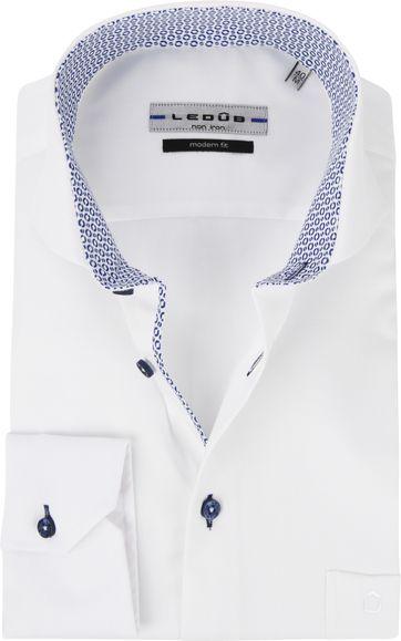Ledub Shirt White MF Non-Iron