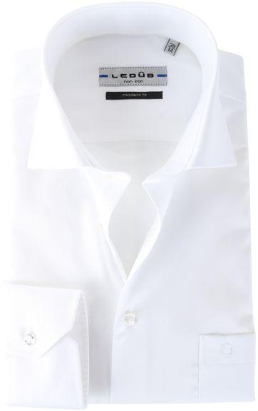 Ledub Shirt White Non Iron