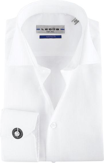 Ledub Strijkvrij SL7 Shirt Wit