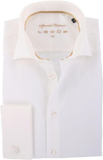Ledub Wedding Shirt Ecru
