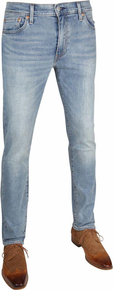 Levi's 502 Jeans Slim Fit Aegean Adapt Light Blue