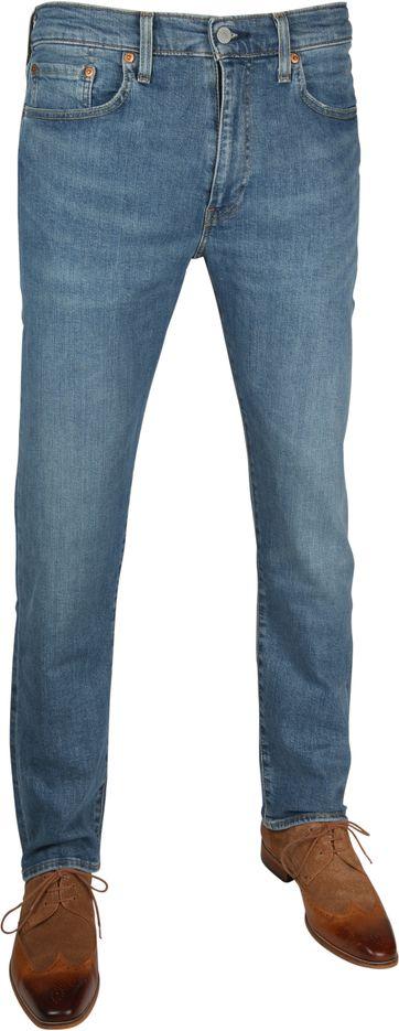 Levi's 502 Jeans Taper Green Beer Blauw