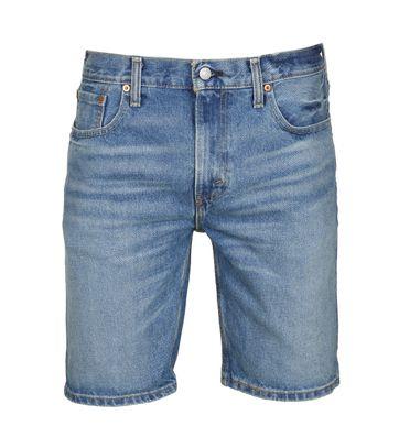 Levi\'s 502 Shorts Blau