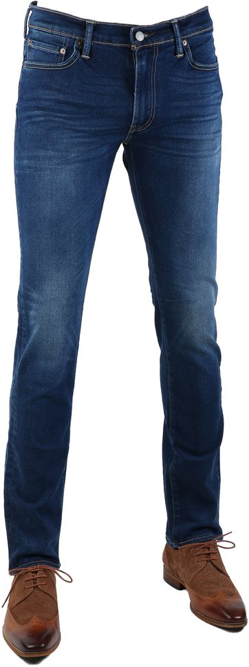 Levi\'s 511 Jeans Slim Fit Midblue 2006