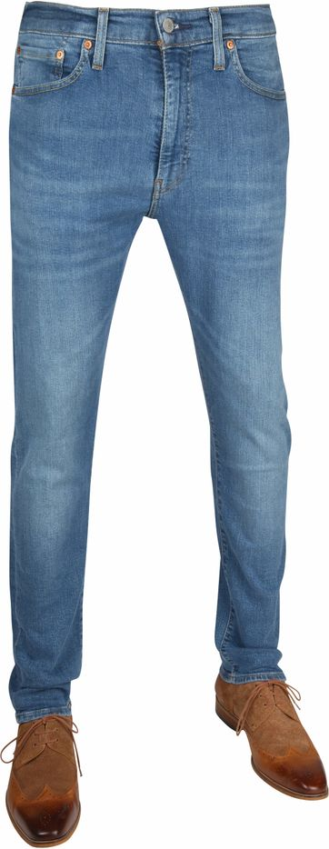 Levi's 512 Jeans Slim Taper Fit 4 Leaf Clover Blauw