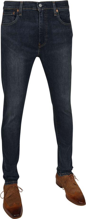 Levi's 512 Jeans Slim Taper Navy