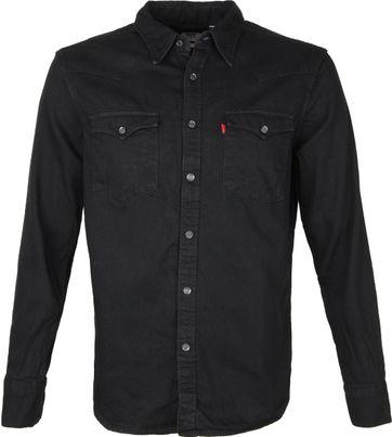 Levi's Barstow Overhemd Zwart