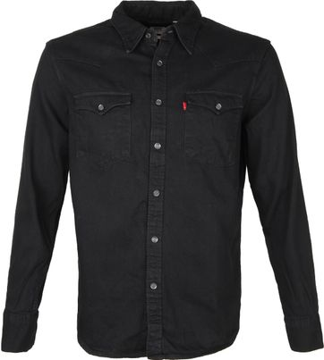 Levi's Barstow Shirt Black