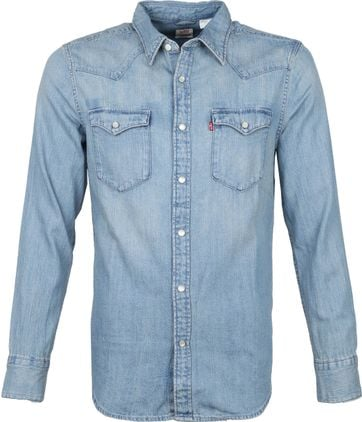 Levi's Barstow Shirt Blue
