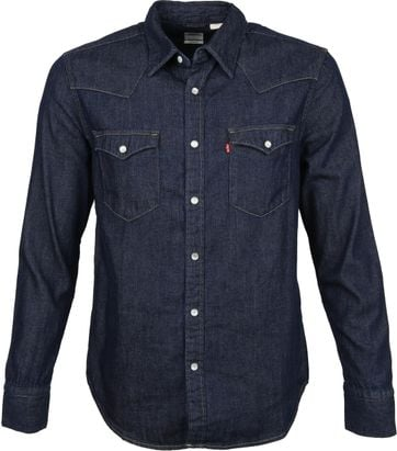 Levi's Barstow Shirt Denim Blue