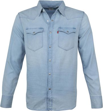 Levi's Barstow Western Blue Shirt