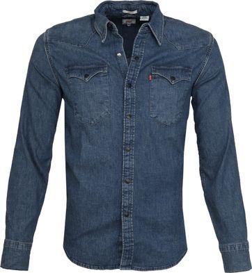 Levi's Barstow Western Shirt Blue