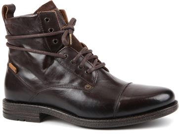 Levi's Boots Emerson Donkerbruin Leer