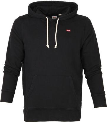 Levi's Graphic Hoodie Zwart