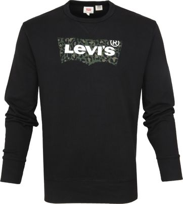 Levi's Graphic Miniral Sweater Zwart