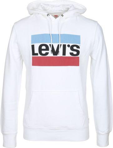 Levi\'s Hoodie Wit