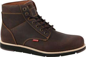Levi's Jax Plus Boots Donkerbruin