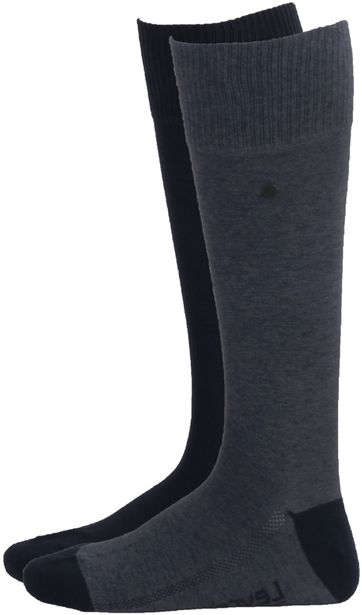 Levi's Knee Socks Blue 2-Pack
