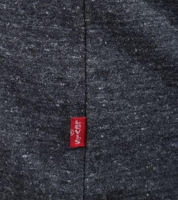 Detail Levi\'s Logo T-shirt Antraciet