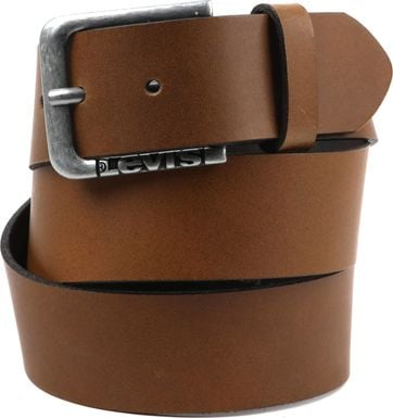 Levi's  N.Lockwood Leather Belt Brown