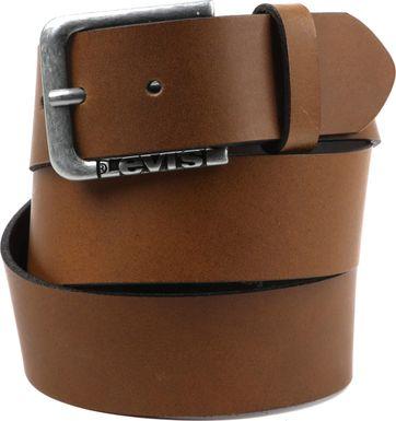 Levi's N.Lockwood Leder Gürtel Braun