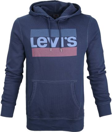 Levi's Olympic Hoodie Dunkelblau