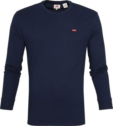 Levi's Original LS T-shirt Navy