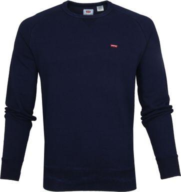 Levi's Original Sweater Dunkelblau