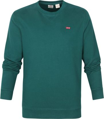 Levi's Original Sweater Dunkelgrün