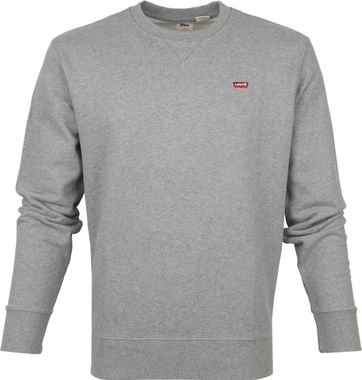 Levi's Original Sweater Grau Heather