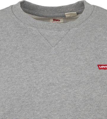 Levi's Original Sweater Grau Heather