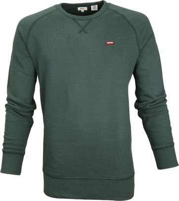 Levi\'s Original Sweater Green