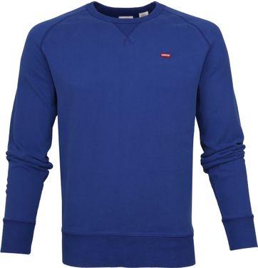 Levi's Original Sweater Indigo Blauw
