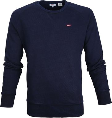 Levi\'s Original Sweater Navy