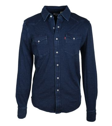Levi\'s Overhemd Barstow Donkerblauw