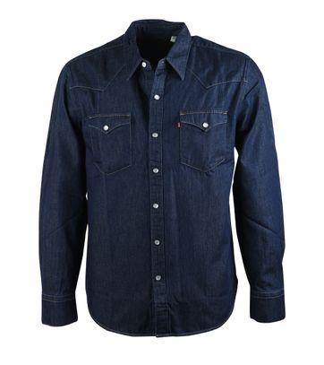 Levi\'s Overhemd Navy