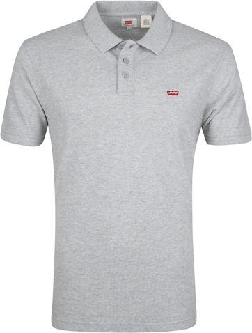 Levi's Polo Shirt Housemark Grey