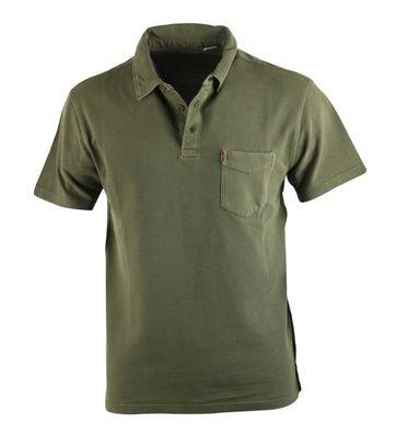 Levi\'s Polo Stribe G Groen