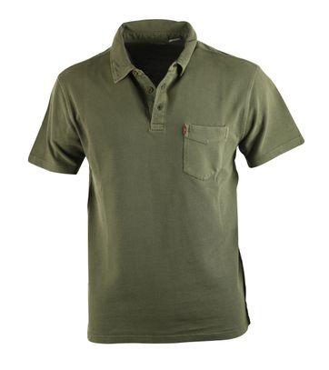 Levi\'s Polo Stribe Green