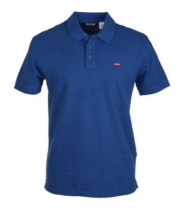 Levi\'s Polo Uni Blau