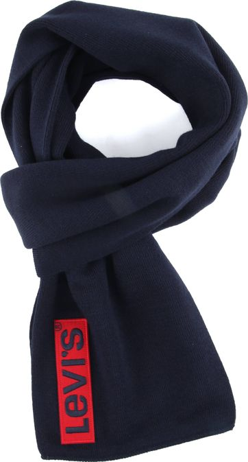 Levi's Sjaal Donkerblauw